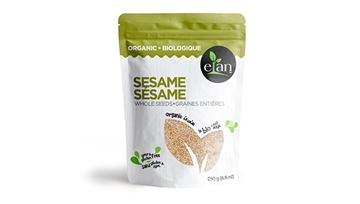Picture of  Elan Organic Whole Sesame Seeds, 250g