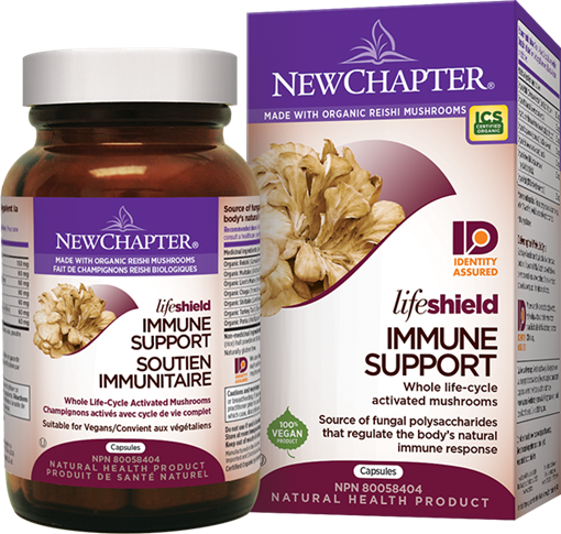 Picture of New Chapter New Chapter Lifeshield Immune Support, 48 Capsules