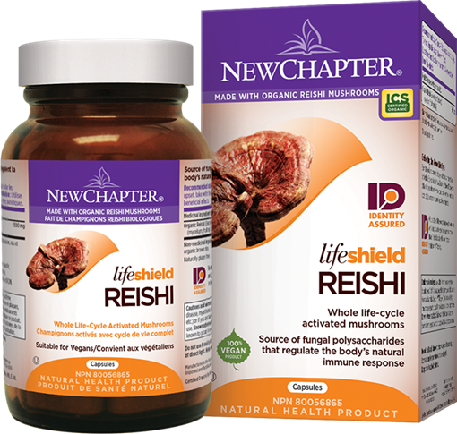 Picture of New Chapter New Chapter Lifeshield Reishi, 48 Capsules