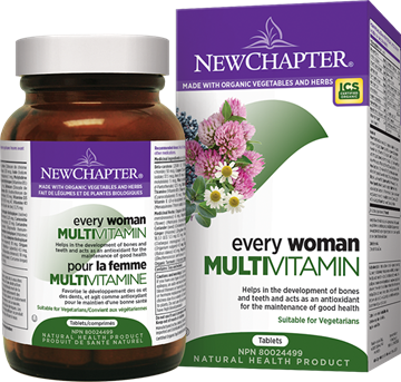 Picture of New Chapter Every Woman Multivitamin, 120 Tablets
