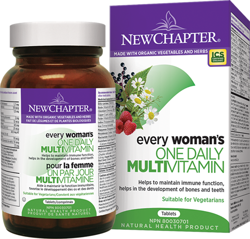 Picture of New Chapter Every Woman's One Daily, 96 Tablets