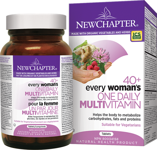 Picture of New Chapter New Chapter Every Woman's One Daily 40+, 72 Tablets