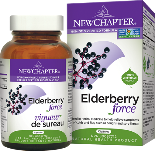 Picture of New Chapter New Chapter Elderberry Force, 30 Capsules