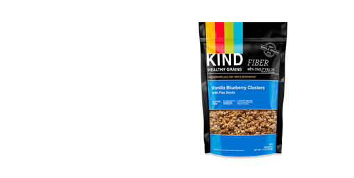 Picture of KIND Kind Clusters, Vanilla Berry with Flax Seeds 312g