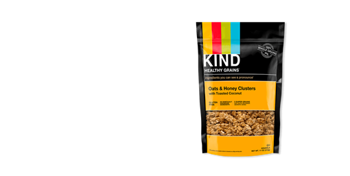 Picture of KIND Kind Clusters, Oats & Honey with Toasted Coconut 312g