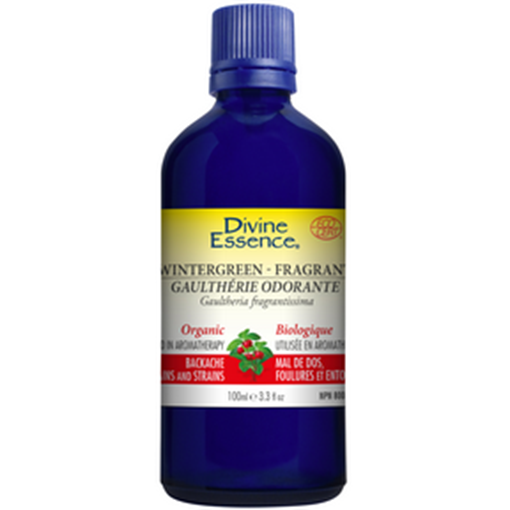 Picture of Divine Essence Wintergreen Fragrant (Organic), 100ml