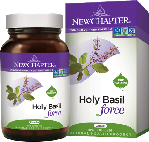 Picture of New Chapter New Chapter Holy Basil Force Licap, 60 Capsules