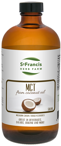 Picture of St Francis Herb Farm Medium Chain Triglycerides, 500ml