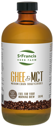 Picture of St Francis Herb Farm Natural Ghee with MCT Oil, 500ml