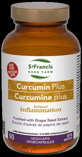 Picture of St Francis Herb Farm St Francis Herb Farm Curcumin Plus, 90 Vegicaps