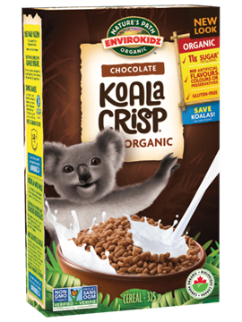 Picture of  Nature's Path Organic Koala Crisp Cereal, Chocolate 325g