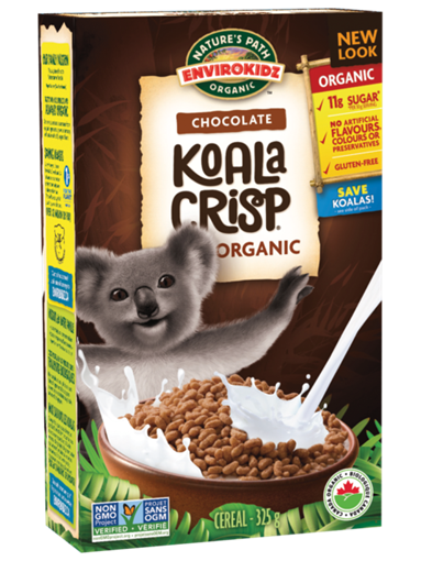 Picture of Nature's Path Nature's Path Organic Koala Crisp Cereal, Chocolate 325g