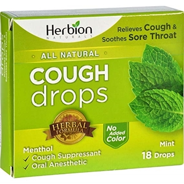 Picture of Herbion Herbion Cough Lozenges, Mint 18 Count