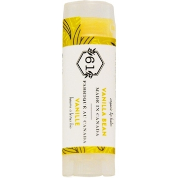 Picture of  Crate 61 Organics Lip Balm, Vanilla Bean 4.3g