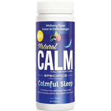 Picture of Natural Calm Calmful Sleep - Wildberry, 113g