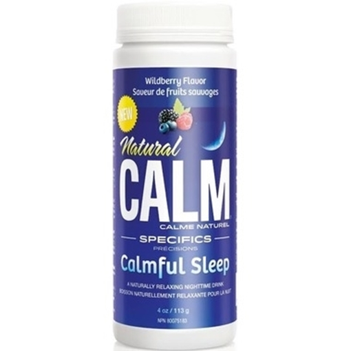 Picture of Natural Calm Calmful Sleep Wildberry, 113g