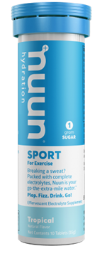 Picture of Nuun & Company, Inc Nuun Sport Tropical Fruit, 10 Tablets x 8