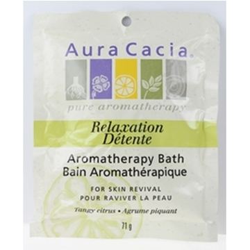 Picture of  Aura Cacia Relaxation Mineral Bath, 71g
