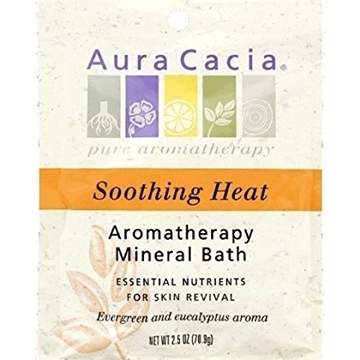 Picture of  Aura Cacia Soothing Heat Mineral Bath, 70.9g