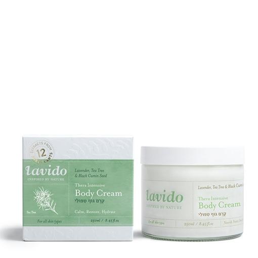 Picture of Lavido Lavido Thera-Intensive Body Cream, Lavender, Tea Tree and Black Cumin Seed 250ml
