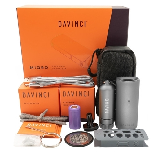 Picture of Davinci Davinci Explorers Edition MIQRO Vaporizer, Graphite