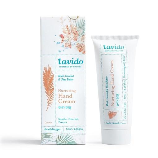 Picture of Lavido Lavido Nurturing Hand Cream, Musk, Coconut and Shea Butter 70ml
