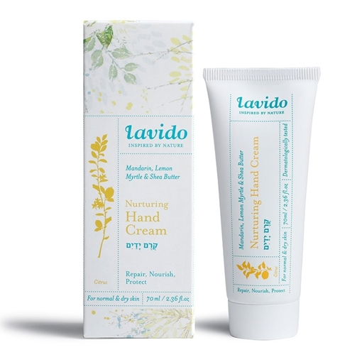 Picture of Lavido Lavido Nurturing Hand Cream, Mandarin, Lemon Myrtle and Shea Butter 70ml