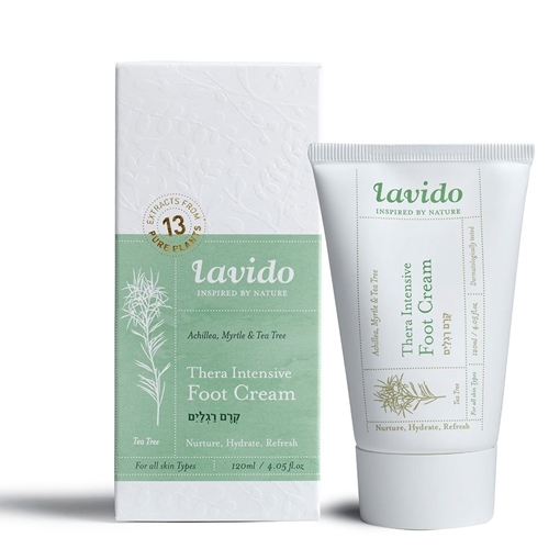 Picture of Lavido Lavido Thera-Intensive Foot Cream, Achillea, Myrtle and Tea Tree 120ml