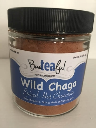 Picture of Bueteaful Bueteaful Wild Chaga Spicy Hot Chocolate Jar, 50g