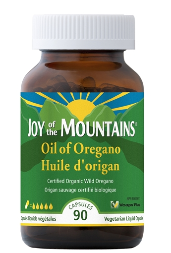 Picture of Joy of the Mountains Joy of the Mountains Oil of Oregano, 90 Capsules
