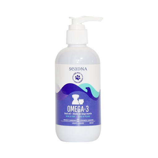 Picture of SeaDNA SeaDNA Omega-3 Seal Oil for Pets, 250ml
