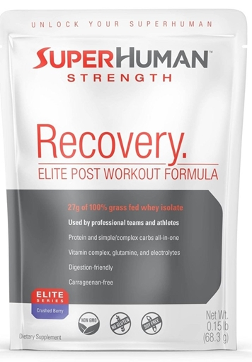 Picture of Super Human Strength Super Human Strength Recovery POP, Crushed Berry 12x68.3g