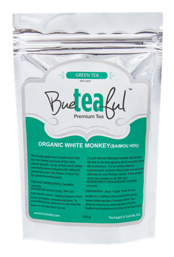 Picture of Bueteaful Organic White Monkey Tea, 100g