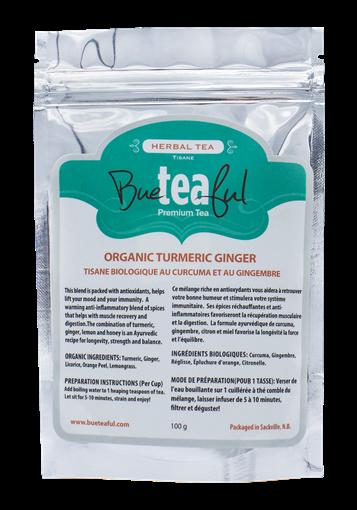 Picture of Bueteaful Bueteaful Organic Turmeric Ginger Tea, 100g