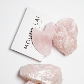 Picture of Mount Lai Rose Quartz Gua Sha