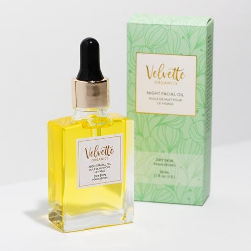 Picture of Velvette Organics Dry Skin Facial Oil, Night 30ml