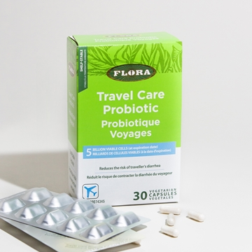 Picture of  Flora Travel Care Probiotic, 30 caps