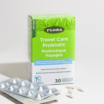 Picture of  Flora Travel Care Probiotic, 30 caps