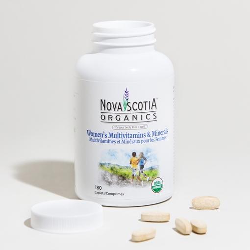Picture of Nova Scotia Organics Nova Scotia Organics Women's Multivitamin & Minerals, 180 Caplets