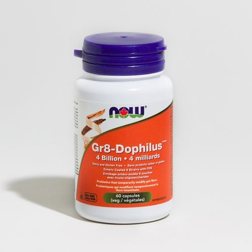 Picture of NOW Foods NOW Foods Gr8-Dophilus Probiotic, 60 Capsules