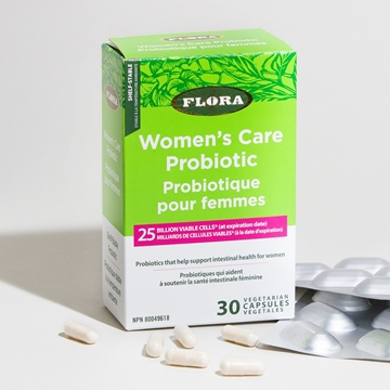 Picture of  Flora Women's Care Probiotic, 30 caps
