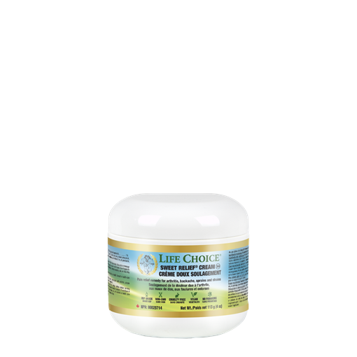 Picture of Life Choice Sweet Relief MSM Cream, 113g