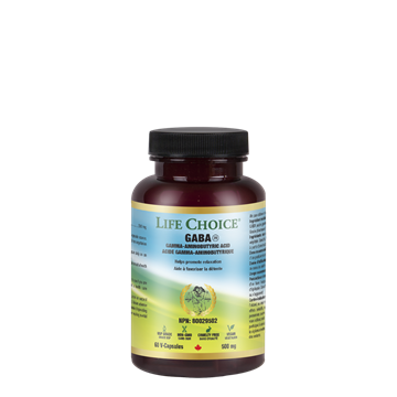Picture of Life Choice GABA 500mg, 60 Capsules