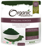 Picture of Organic Traditions Spirulina Powder, 150g