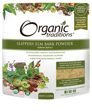 Picture of Organic Traditions Slippery Elm Bark Powder, 200g