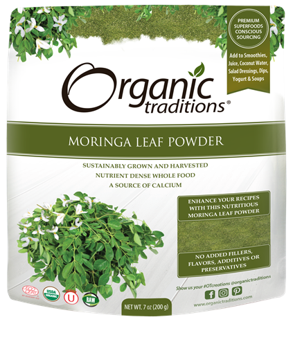 Picture of Organic Traditions Moringa Leaf Powder, 200g