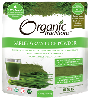 Picture of Organic Traditions Barley Grass Juice Powder, 150g