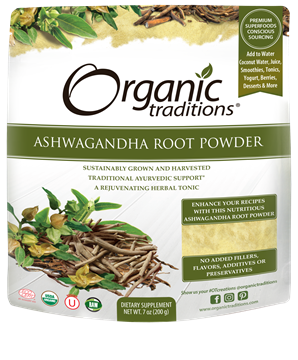 Picture of Organic Traditions Ashwagandha Powder, 200g