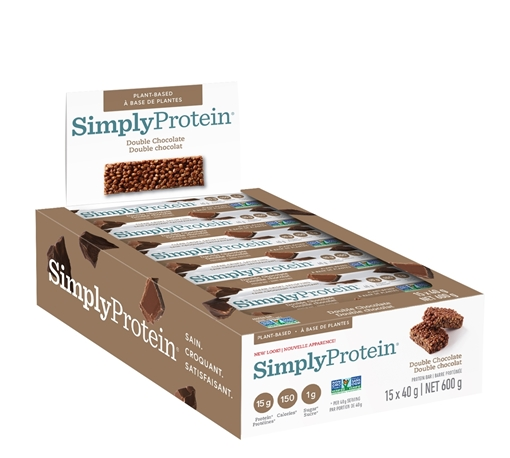 Picture of Simply Protein Protein Bar, Double Chocolate 15x40g