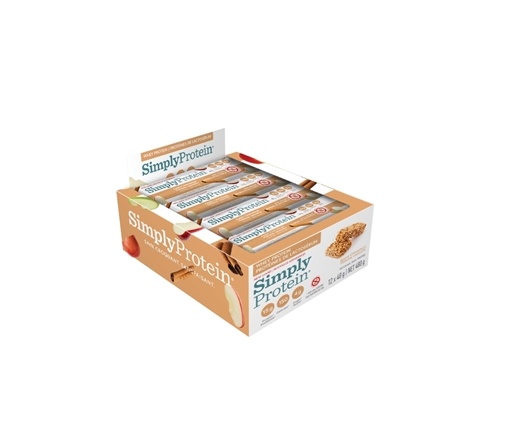 Picture of Simply Protein Whey Bar, Apple Cinnamon 12x40g